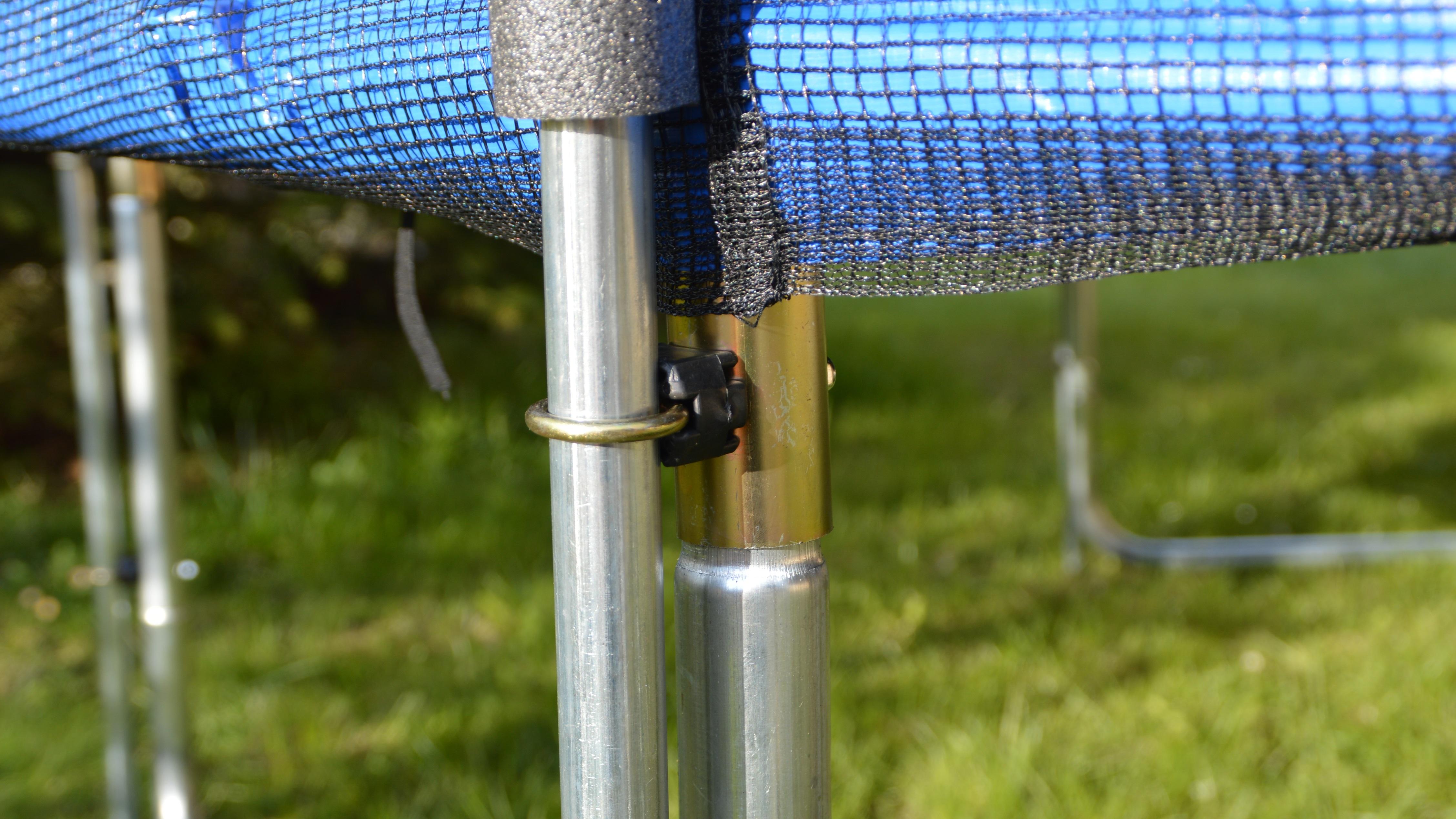 outdoor trampolin set 244cm kinder gartentrampolin mit. Black Bedroom Furniture Sets. Home Design Ideas